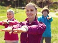 Aerobic voor vrouwen in De Zaagtand