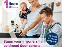 TONK-regeling in Hoorn voor inwoners in geldnood door corona